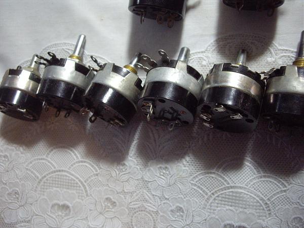Продам Переменные для ламповых усилителей 23 шт