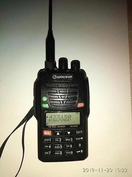 Продам укв радиостанцию wouxung uv-6d