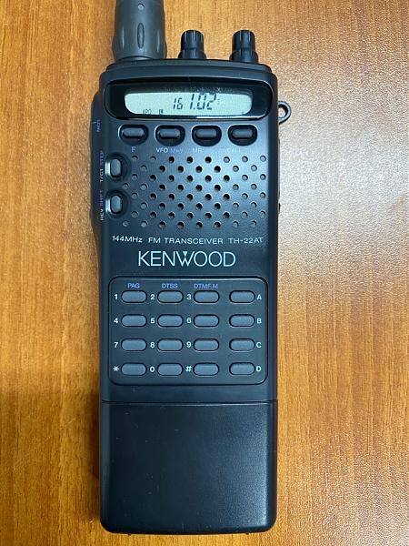 Продам Рация Kenwood TH-22AT (136-174MHz, 5W)