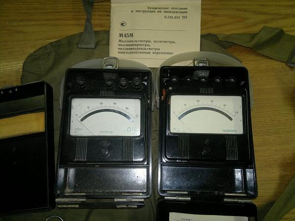 Продам Милливольтметр М45М М45МОМ3