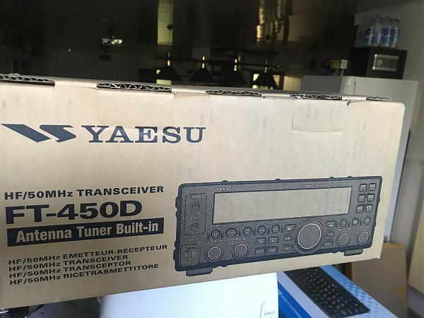 Продам Новый трансивер FT-450D со встроенным тюнером