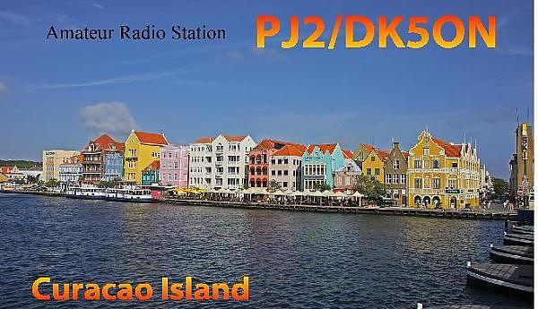 PJ2/DK5ON Остров Кюрасао