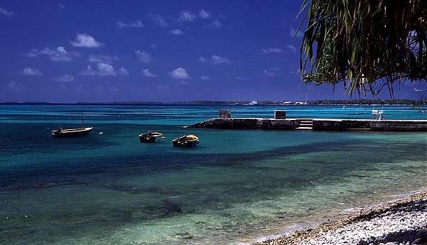 T2AR Атолл Фунафути Тувалу
