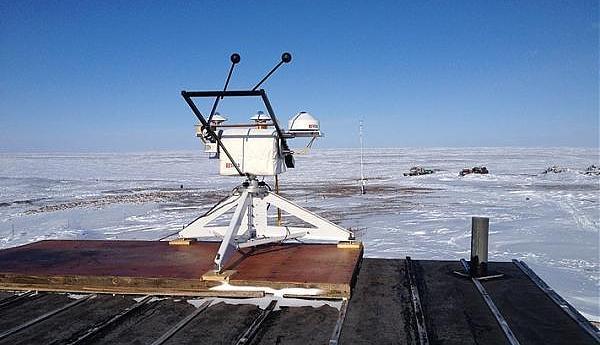 """RW1AI/9 архипелаг Северная земля, научная станция """"Мыс Баранова"""""""