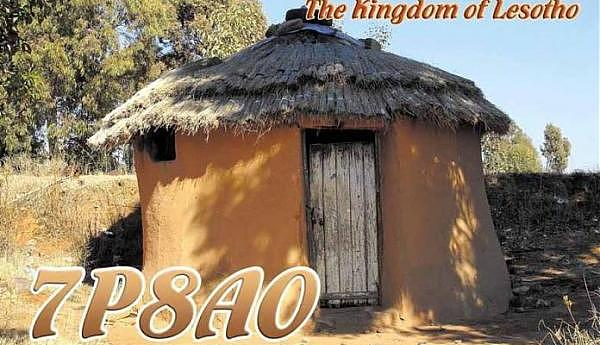 Лесото 7P8AO