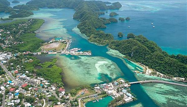 T88KZ Остров Корор Республика Палау