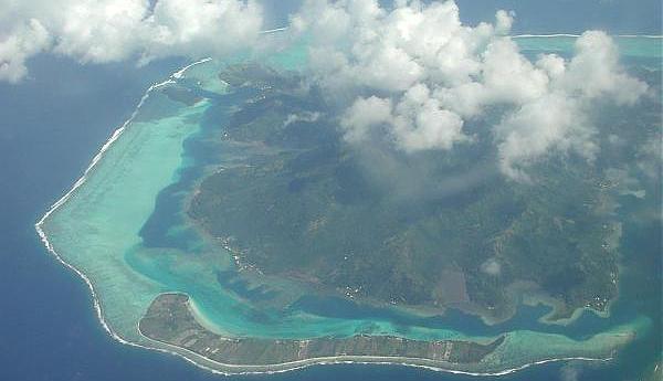 FO/F6BCW Остров Хуахине Французская Полинезия