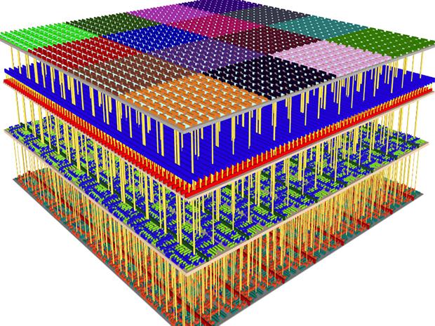Структура 3D-чипа