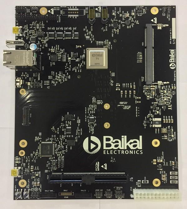 Оценочная плата БФК 3.1 с процессором Baikal-T1