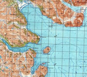карта бухта Наталии