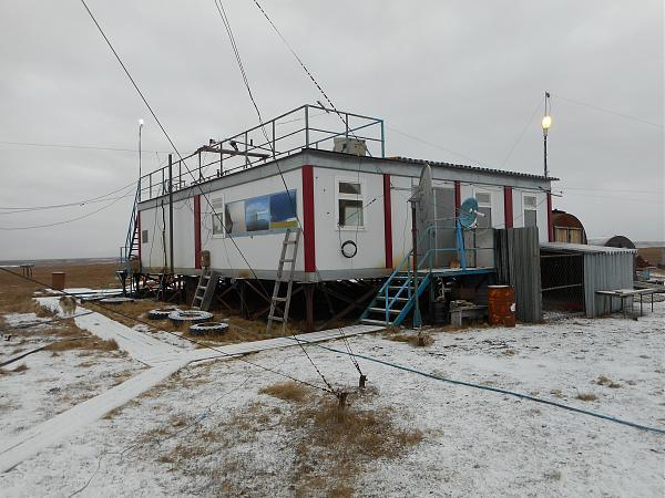 Фото гидрометеорологической береговой станции «Марресаля» (МГ-2 МАРРЕСАЛЯ)