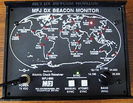 MFJ карта маяков