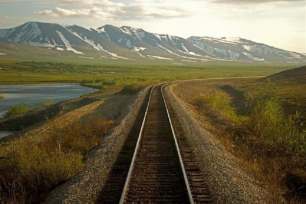 железная дорога Чум-Лабытнанги