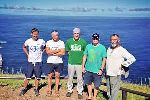 Путешественник Анатолий Кулик RA9OFK/mm дал интервью по возвращению из экспедиции с острова Пасхи