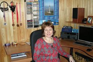 Поздравляем Ирину Заруба RZ9OA с юбилеем!