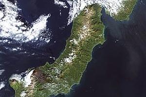 Остров Парамушир в эфире