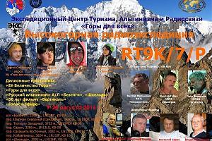Высокогорная радиоэкспедиция ЭГКР RT9K/6