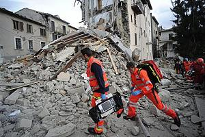 Землетрясение в Италии - август 2016