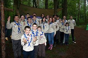 UR4EYL - первая в Украине скаутская коллективная детская радиостанция