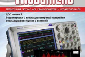 """Журнал """"Радиолюбитель"""" - сентябрь 2016"""