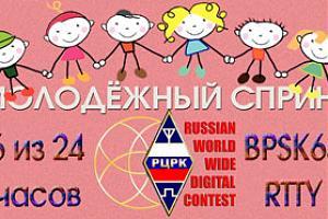 Молодёжный спринт в RUS-WW-DIGI 2016 - сентябрь 2016