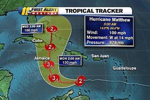 Ураган Мэттью - радиолюбительская спасательная служба