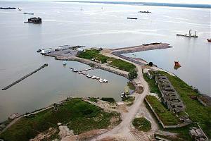 В эфире крепости России - форт Константин, Красная Горка