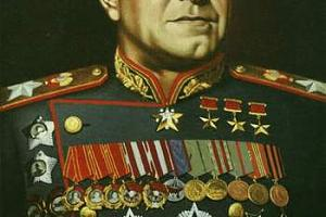 R120GV-памяти Г.К. Жукова посвящяется