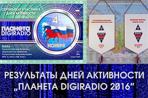 "Итоги дней активности ""Планета DIGIRADIO 2016"""