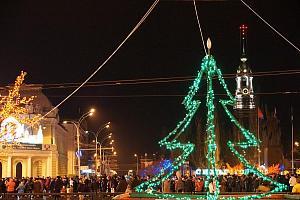 В эфире R17TCNY г. Тамбов - новогодняя столица России 2016/2017 г.