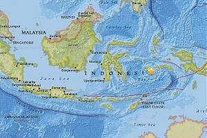 Землетрясение в Индонезии 2016 - аварийная частота 7110 кГц