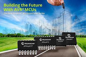 Microchip выпускает новое поколение 8-разрядных микроконтроллеров AVR с независимой от ядра перифери ...