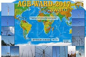 Дни активности клуба AGB к World Amateur Radio Day с 15 по 23 апреля 2017