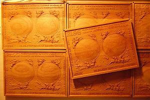 Первая в мире 3D деревянная (сувенирная) QSL RL5G