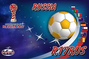 Итоги работы команды R17RUS в днях активности, посвященных проведению Кубка Конфедераций по футболу