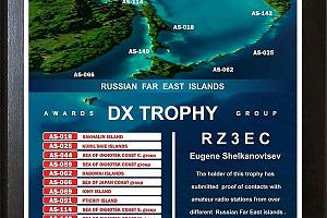 "Трофей ""RUSSIAN FAR EAST ISLANDS"""