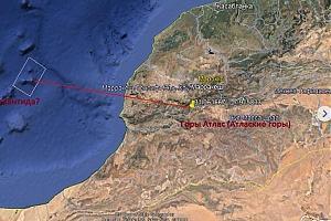 Российский радиолюбитель обнаружил точное местоположение затерянной Атлантиды - кадры