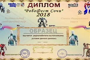 """Дни активности RO7C с фестиваля """"РобоФест Сочи"""" 2018"""