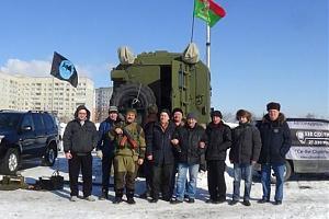 Празднование 100 ЛЕТ РККА в Саратове