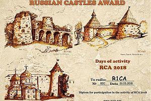 Подготовлены дипломы участникам RCA-2018