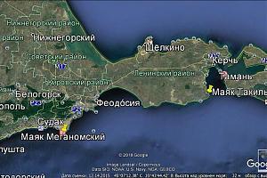 Радиоэкспедиция на маяки Крыма 20-24 мая 2019