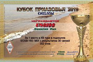 Кубок  Приазовья-2019 состоится в пятницу 6 декабря 2019