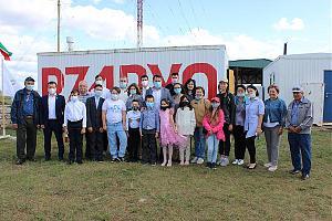 В Татарстане школьники провели сеанс радиосвязи с космонавтами