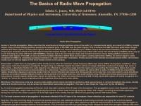 Основы прохождения радиоволн на КВ (на английском)