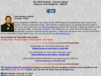 OPDX Bulletin