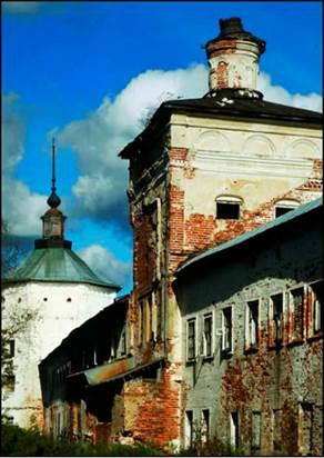 Рис.13 Пешношский монастырь.