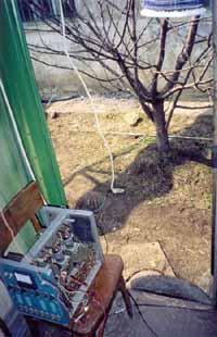 ДВ-PA из УНЧ У-100 на рабочей позиции