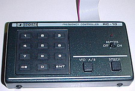 RC-10 keypad