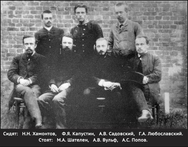 Рис.6 Участники экспедиции в Красноярске для наблюдения солнечного затмения (1887).