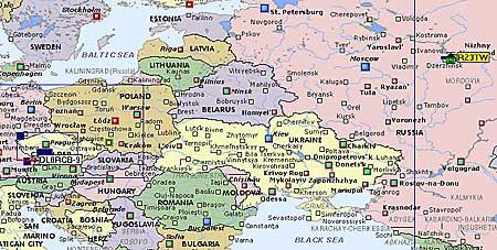 На территории России хорошо были слышны RZ3TW, UA9FGR и RU42-1